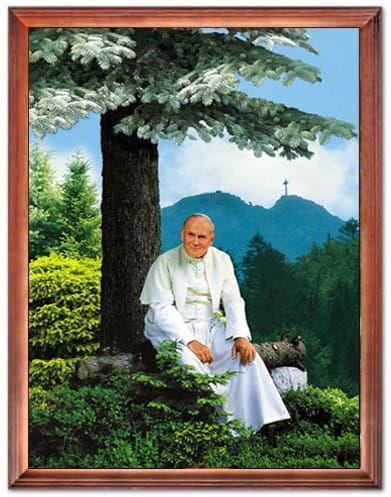 Obraz religijny Święty Jan Paweł II pod Giewontem