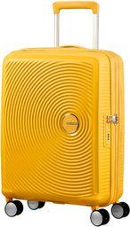 American Tourister Soundbox - Spinner S rozszerzalny bagaż podręczny, żółty (Golden Yellow) (żółty) - 88472/1371