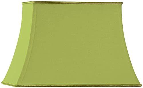 Pagode prostokątny klosz 35 x 25/23 x 14/25 jasnozielony