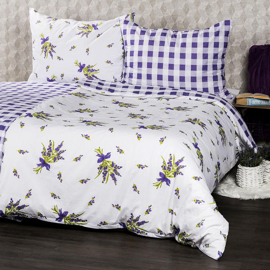 Pościel bawełniana Provence, 140 x 200 cm, 70 x 90 cm