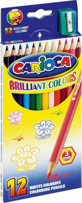 Kredki ołówkowe 12 kolorów 40380 CARIOCA - X00655