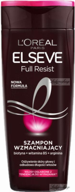 L''Oréal - ELSEVE - Full Resist - Wzmacniający szampon do włosów osłabionych z tendencją do wypadania - 400 ml