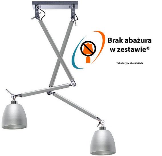 Stelaż ZYTA 2S ALU AZ2301 - Azzardo - Zapytaj o kupon rabatowy lub LEDY gratis