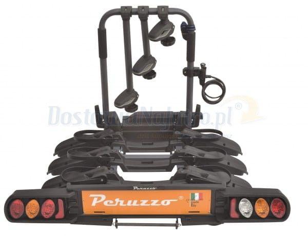 Bagażnik rowerowy składany Peruzzo Pure Instinct 3 platforma na hak 3 rowery