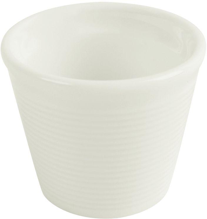 Kieliszek na jajko porcelanowy Line