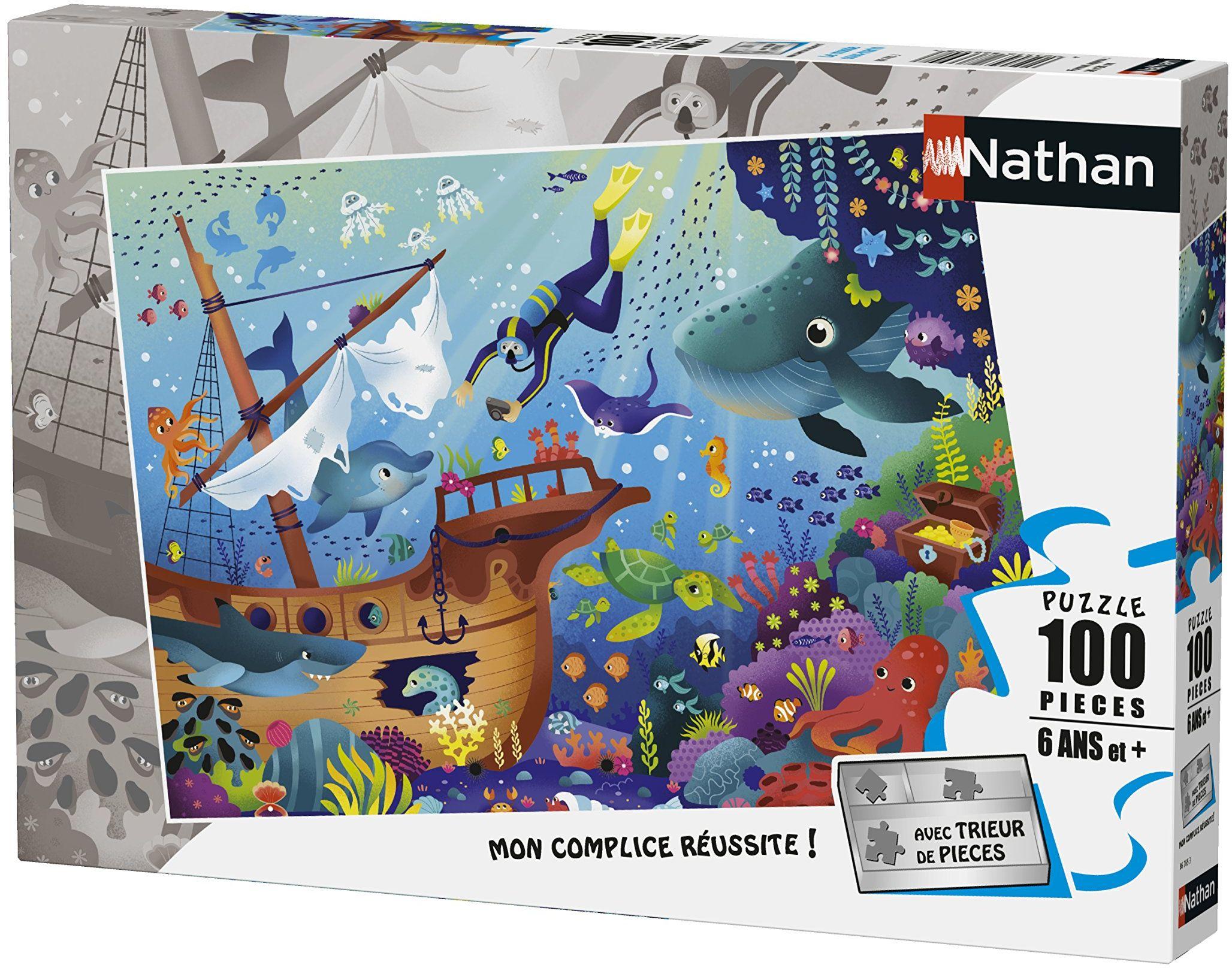 Nathan  Puzzle Das Waterworld 100-częściowy, 86765