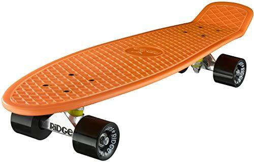 Ridge Deskorolka Big Brother nikiel 69 cm Mini Cruiser, pomarańczowa/czarna