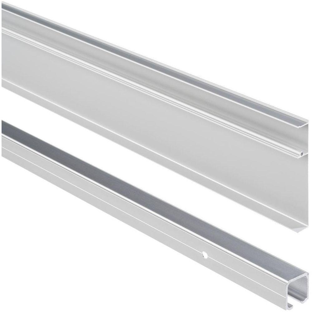 System naścienny do drzwi przesuwnych Aluminium