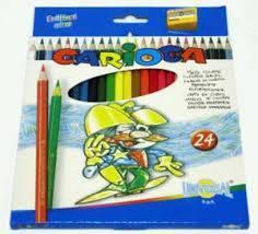 Kredki ołówkowe 24 kolory 40381 CARIOCA - X00658