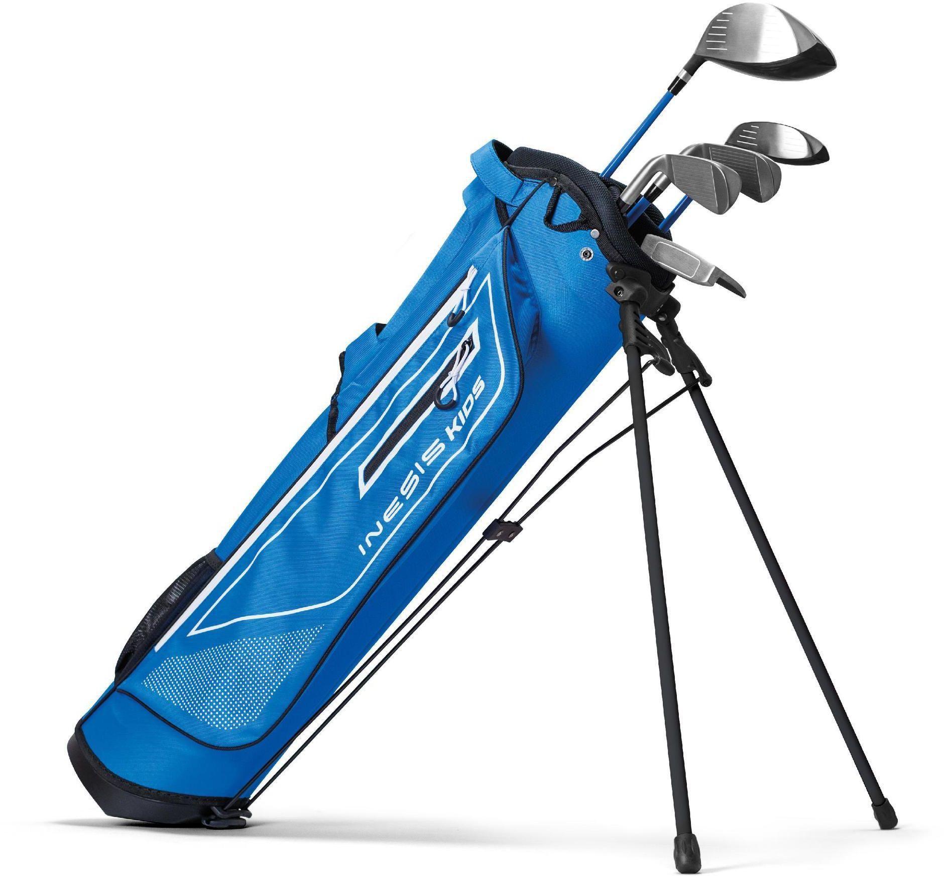 Kije golfowe zestaw dla dzieci 11-13 lat dla praworęcznych