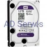 Dysk HDD 1TB PURZ, Western Digital