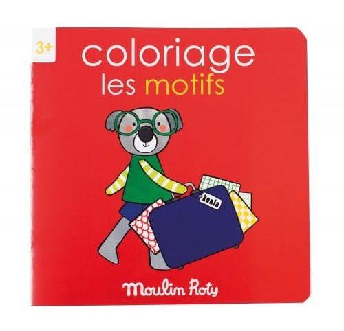 Moulin Roty - Kolorowanka Motywy 20 Stron 661604