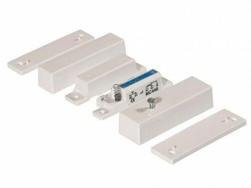 MC 446 Kontakt magnetyczny, montaż powierzchniowy, NC/NO - Alarmtech