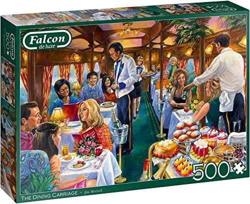 Falcon de luxe The Dining Carriage 500 sztuk puzzli