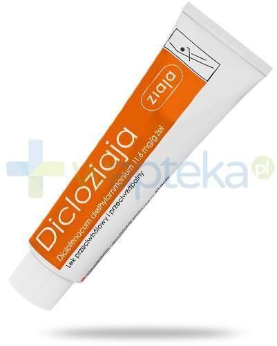 Ziaja Dicloziaja 11,6mg/g żel przeciwbólowy i przeciwzapalny 100 g