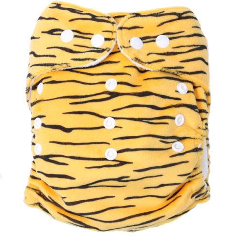 pieluszka wielorazowa MINKY leopard