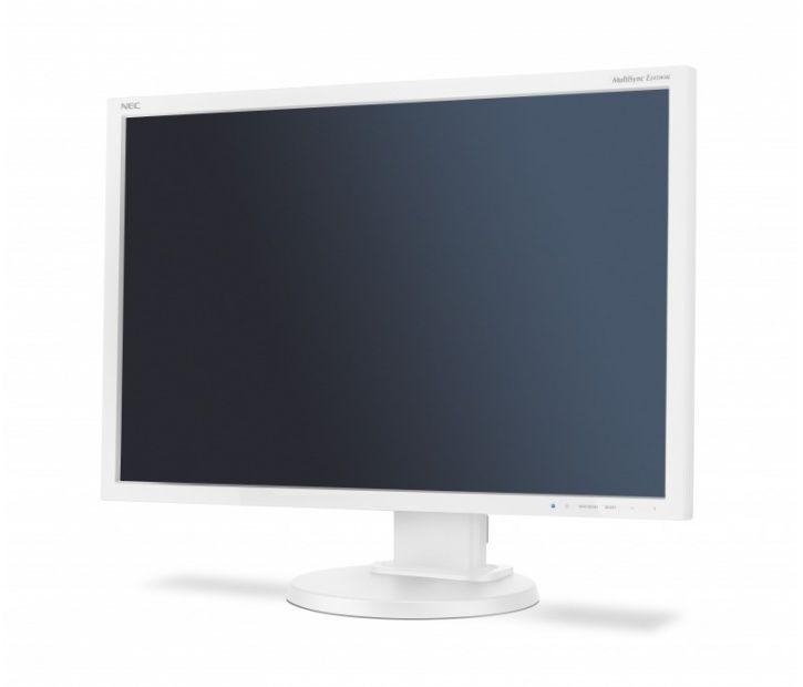 "Monitor desktopowy MultiSync E245WMi LCD 24"" Biały (60004148)"