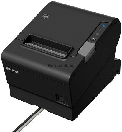 Drukarka termiczna EPSON TM-T88VI (551): USB, Ethernet, Bluetooth, PS, Black, EU