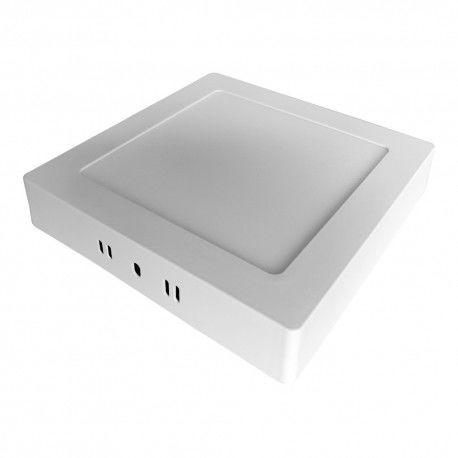 Oprawa LED 13W 4000K 1020lm neutralna biała natynk kwadrat zasilacz panel MATIS PLUS LD-MAN13W-NBP GTV 4445