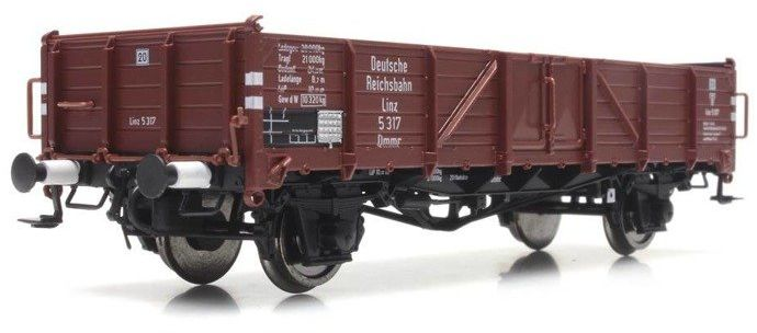 Wagon Węglarka Ommr 32 Linz DRB 4 224 model H0 Artitec