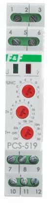 Przekaźnik czasowy 2P 8A 0,1sek-576h 12V AC/DC wielofunkcyjny PCS-519-12V