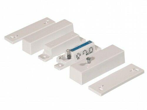 MC 447 Kontakt magnetyczny, montaż powierzchniowy, 2 x NC - Alarmtech