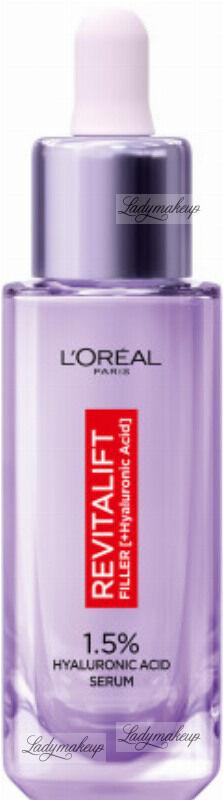 L''Oréal - REVITALIFT FILLER [HA] - Przeciwzmarszczkowe serum z czystym kwasem hialuronowym 1,5% - 30 ml