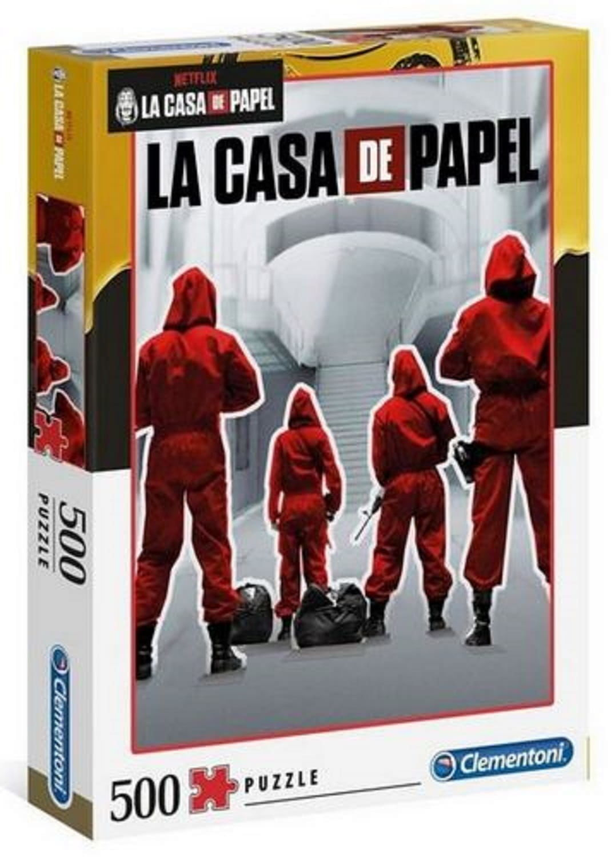Clementoni Puzzle 500 elementów HQC La Casa De Papel Dom z papieru