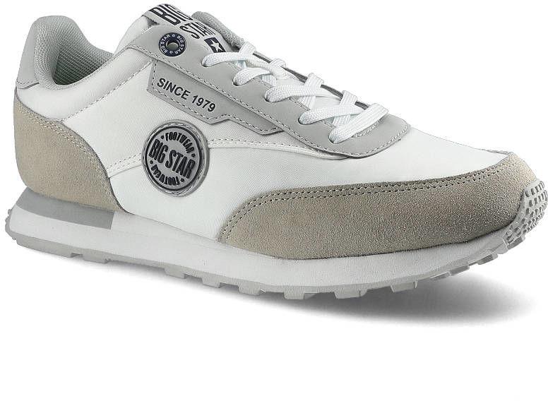 Sneakersy BIG STAR HH274527 Biały/Szary