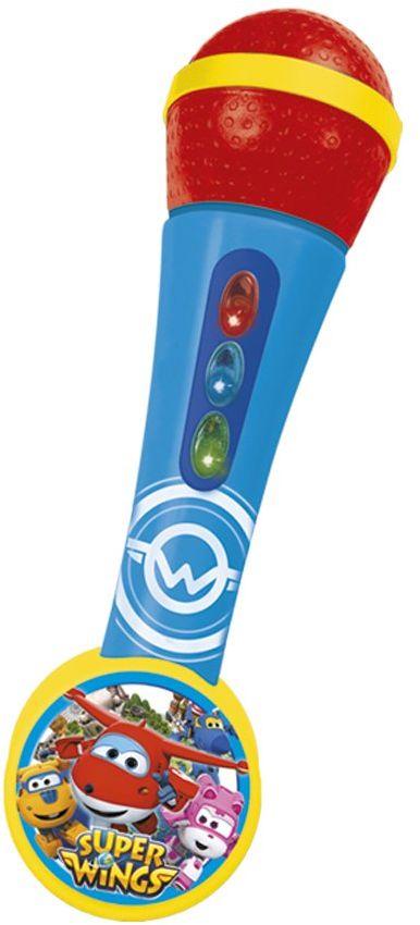 Super Wings 2119 Kraina lodu Mikrofon z amplifier