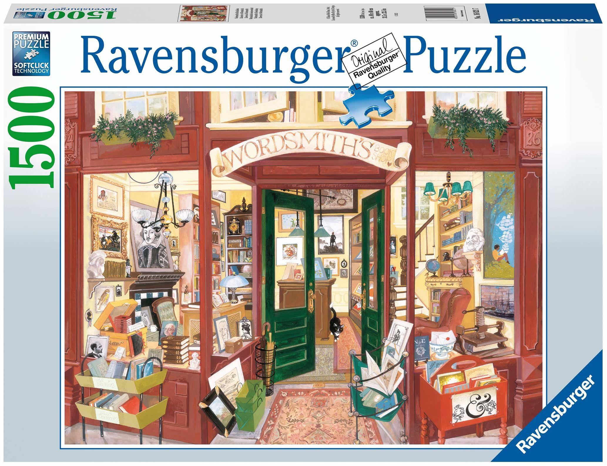 Ravensburger 16821 Księgarnia słów 1500 elementów puzzle dla dorosłych i dzieci od 12 lat