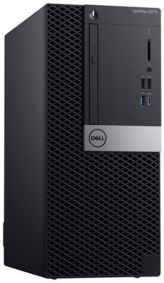 Dell Komputer PC OptiPlex 5070 i7-9700 8GB 256GB SSD DVDRW Windows10 Pro. 3 lata gwarancji w
