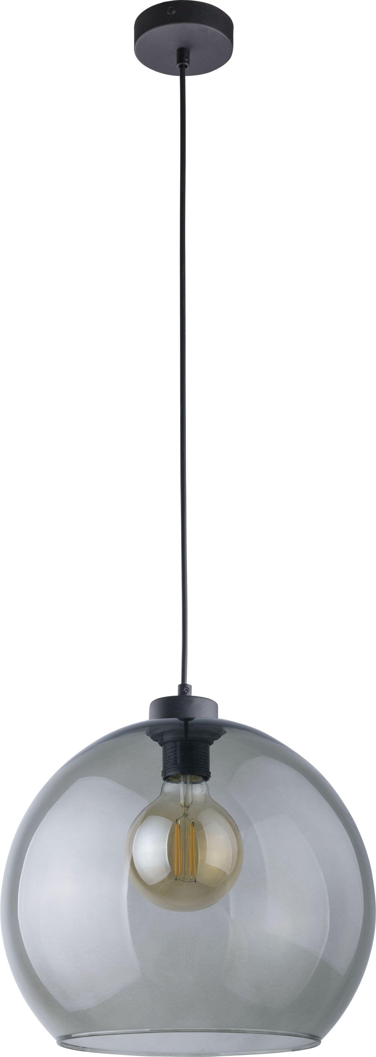 Lampa wisząca Cubus Graphite 1 punktowa szklana grafitowa 4292 - TK Lighting // Rabaty w koszyku i darmowa dostawa od 299zł !