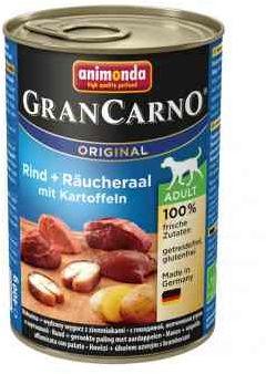 Animonda GranCarno Wołowina, Węgorz, Ziemniaki 400 g