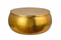 Stolik kawowy Orient Storage 70 złoty