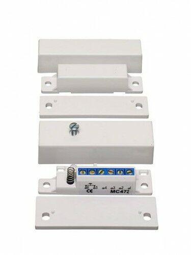 MC 472 Kontakt magnetyczny, High Security, powierzchniowy, NC - Alarmtech