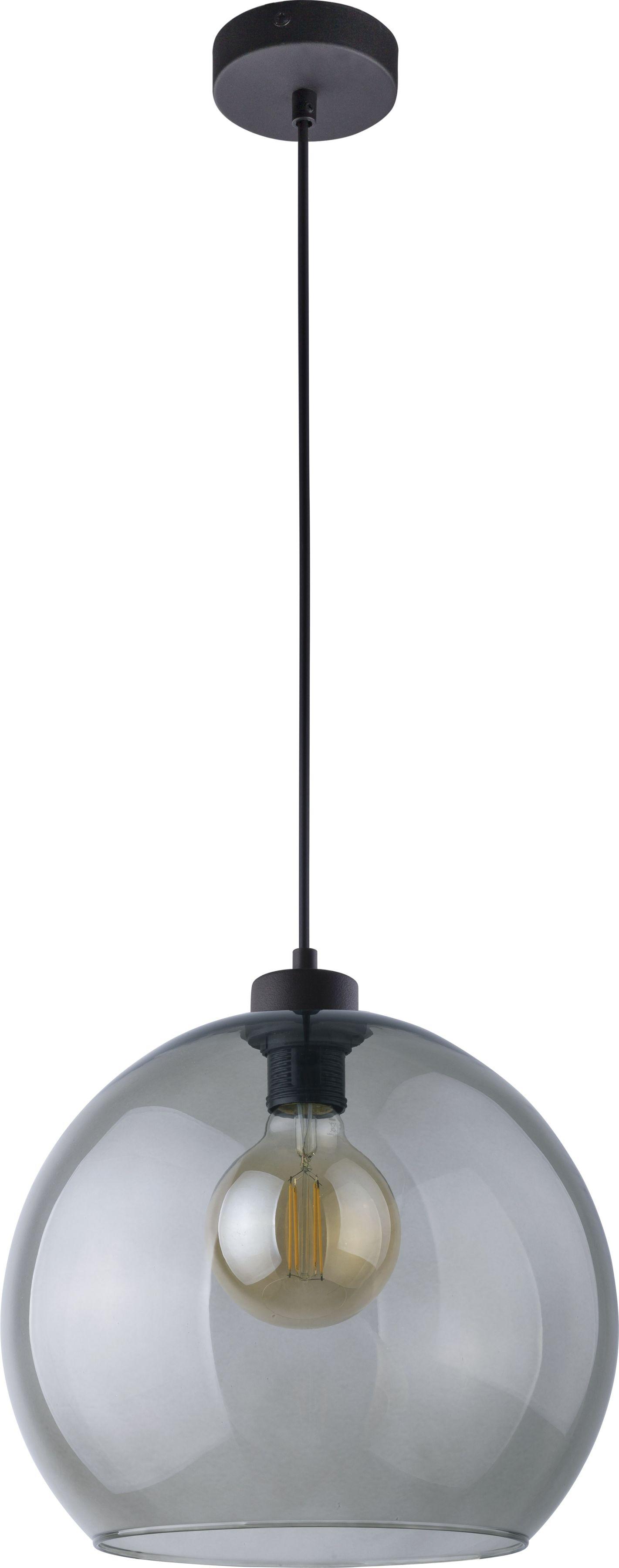 Lampa wisząca Cubus szklana 1 punktowa grafitowa 4292 - TK Lighting // Rabaty w koszyku i darmowa dostawa od 299zł !