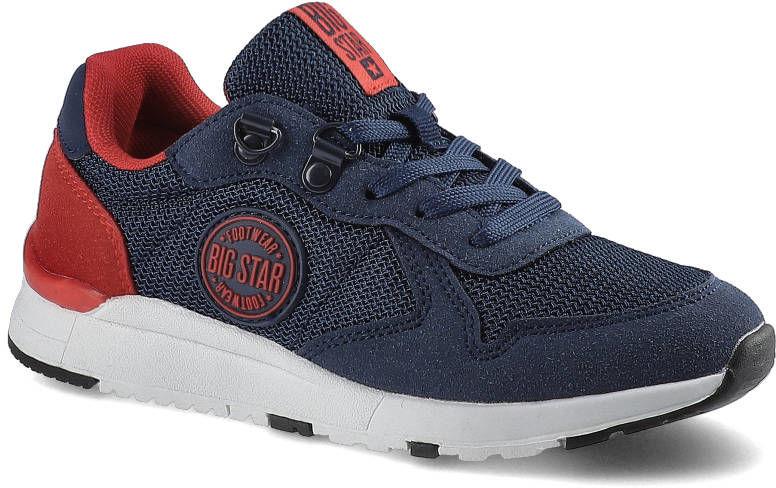 Sneakersy BIG STAR HH374175 Granat