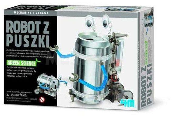 Robot z puszki (do montażu)