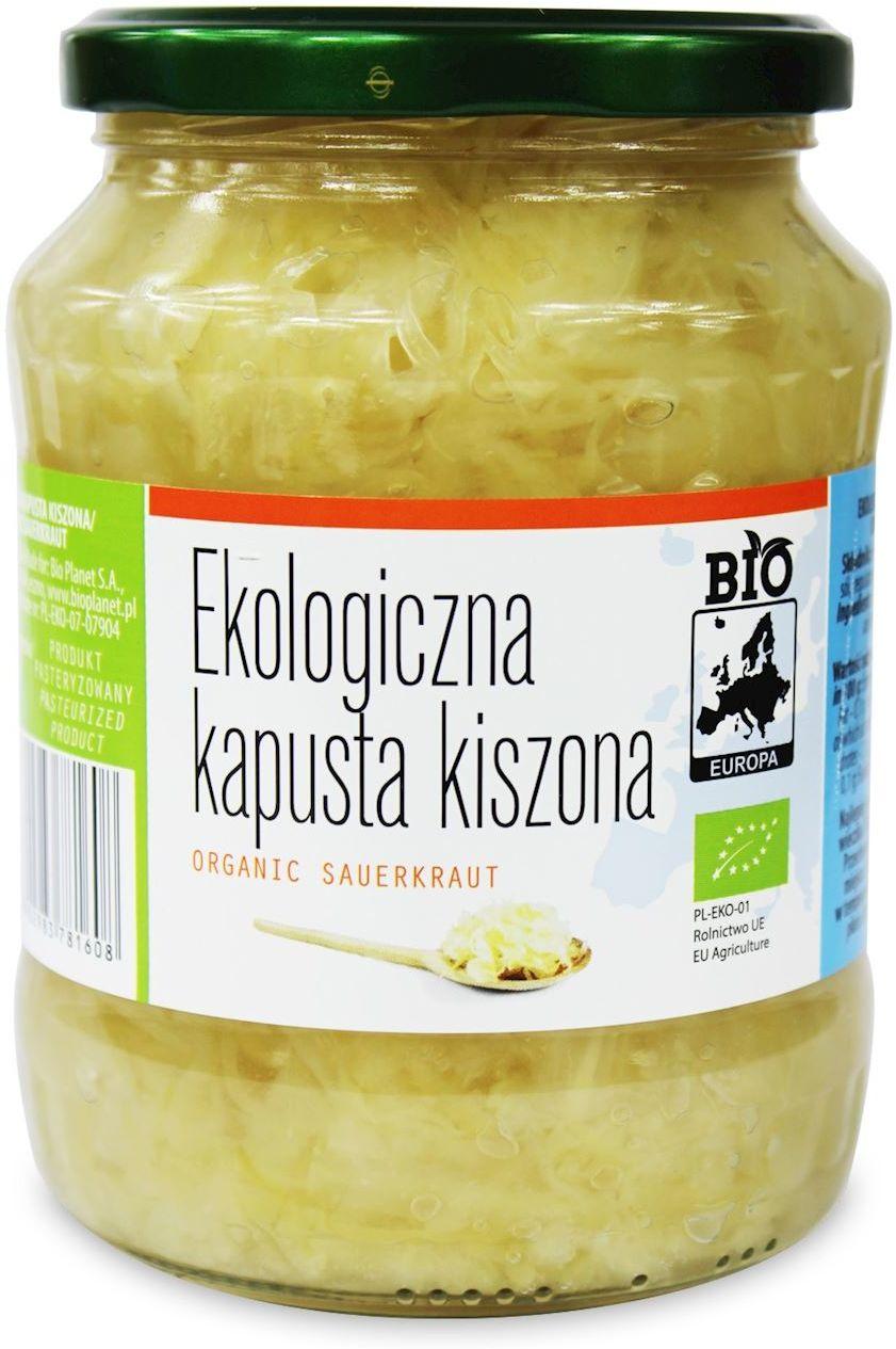 Kapusta kiszona bio 680 g 410 g - bio europa
