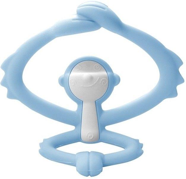 Mombella - Gryzak Zabawka Małpka Light Blue