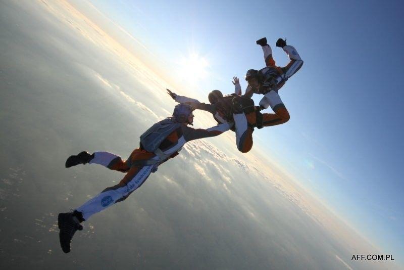 Skok ze spadochronem - Nowy Targ