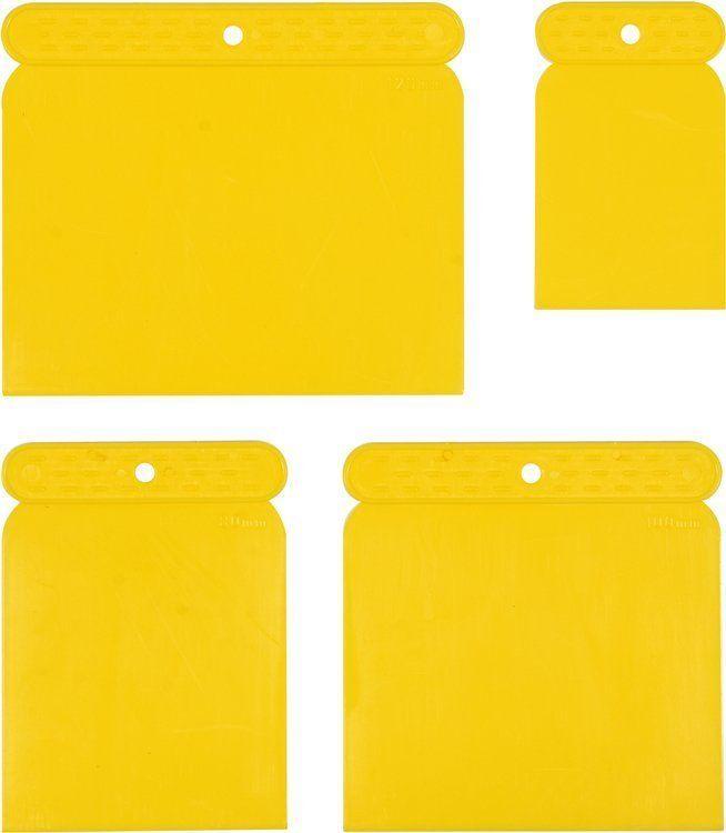 Szpachle japońskie plastikowe 4szt. 50, 73, 98, 118mm Vorel 05950 - ZYSKAJ RABAT 30 ZŁ