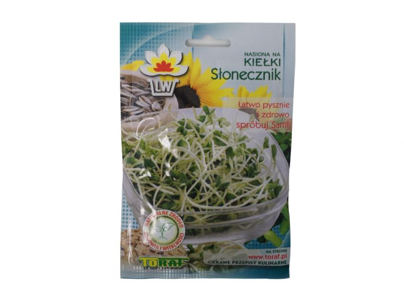 Słonecznik nasiona kiełki 20g TORAF