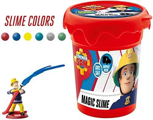CRAZE 16626 Strażak Sam Fireman Magic Slime dziecięcy welon do pokoju dziecięcego, na imprezę dla dzieci, kolorowy