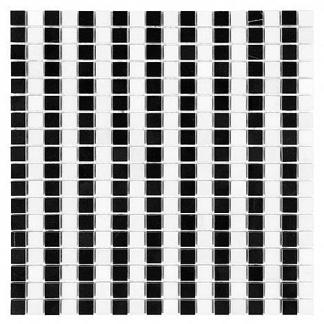 Dunin mozaika kamienna B&W Black & White Strips 15