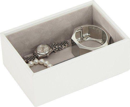 Szkatułka na biżuterię stackers open mini biała