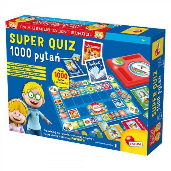 Super Quiz 1000 pytań ZAKŁADKA DO KSIĄŻEK GRATIS DO KAŻDEGO ZAMÓWIENIA