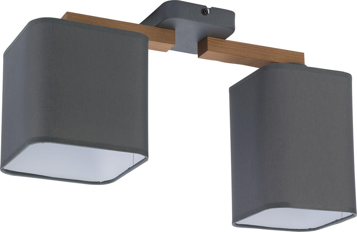 Lampa sufitowa Tora Grey 2 punktowa szara 4165 - TK Lighting // Rabaty w koszyku i darmowa dostawa od 299zł !