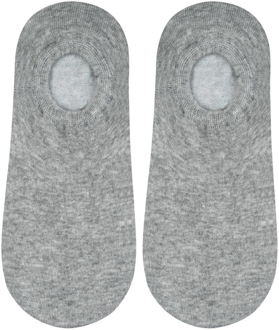 Stopki męskie z silikonem - szare